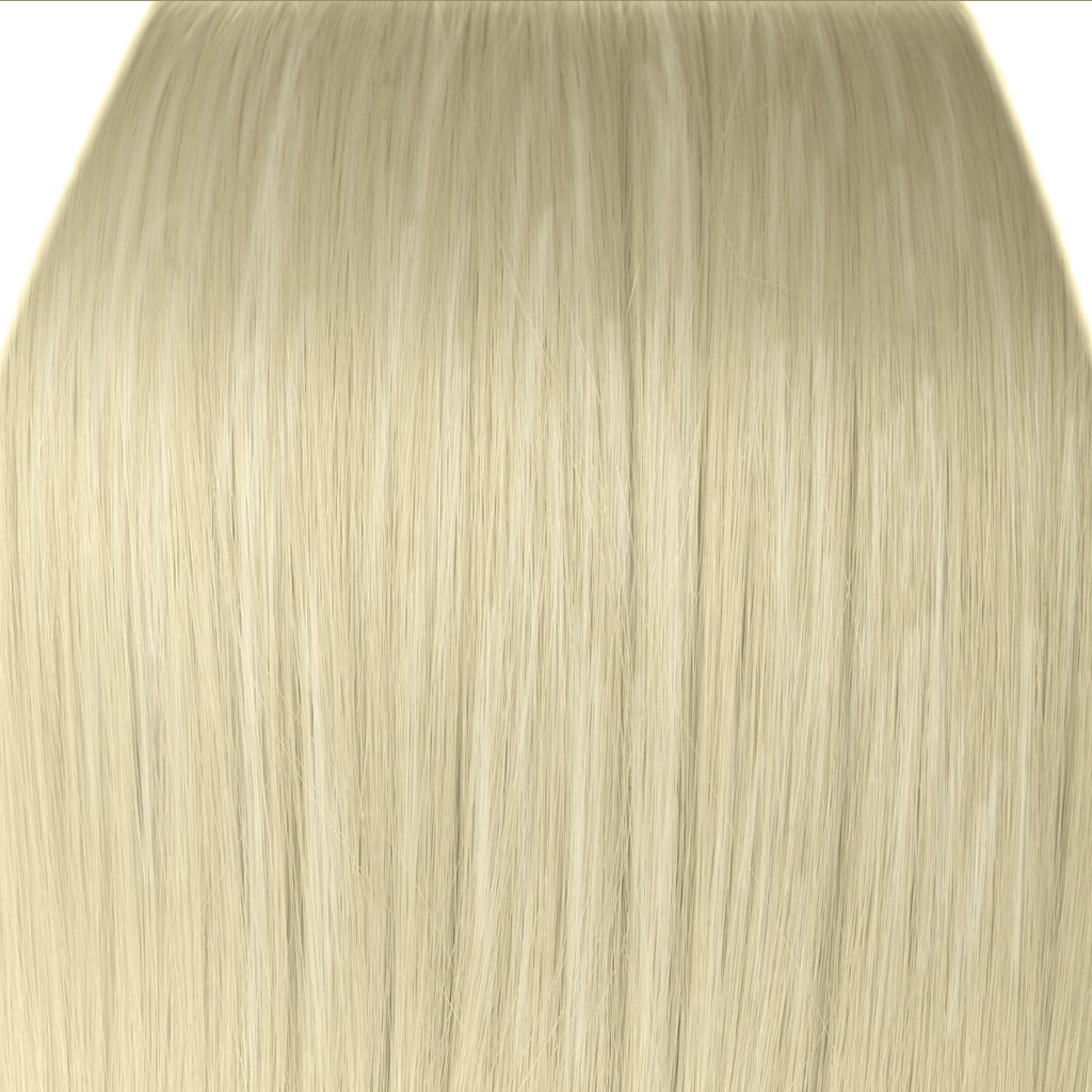 "Details about 15"" Clip in Hair Extensions STRAIGHT Platinum Blonde #16 ..."