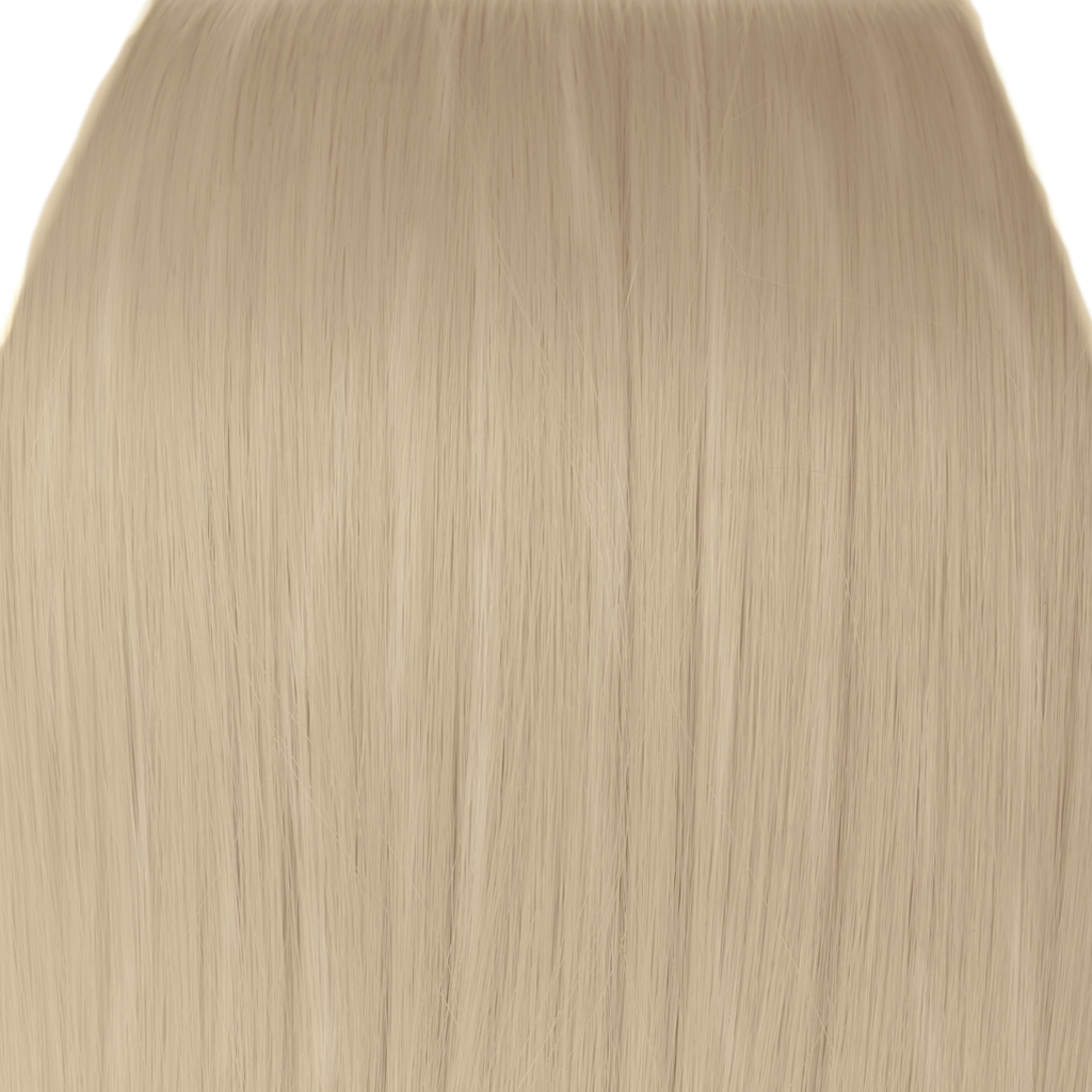 Clip In Hair Extensions Straight Champagne Blonde 22 Full