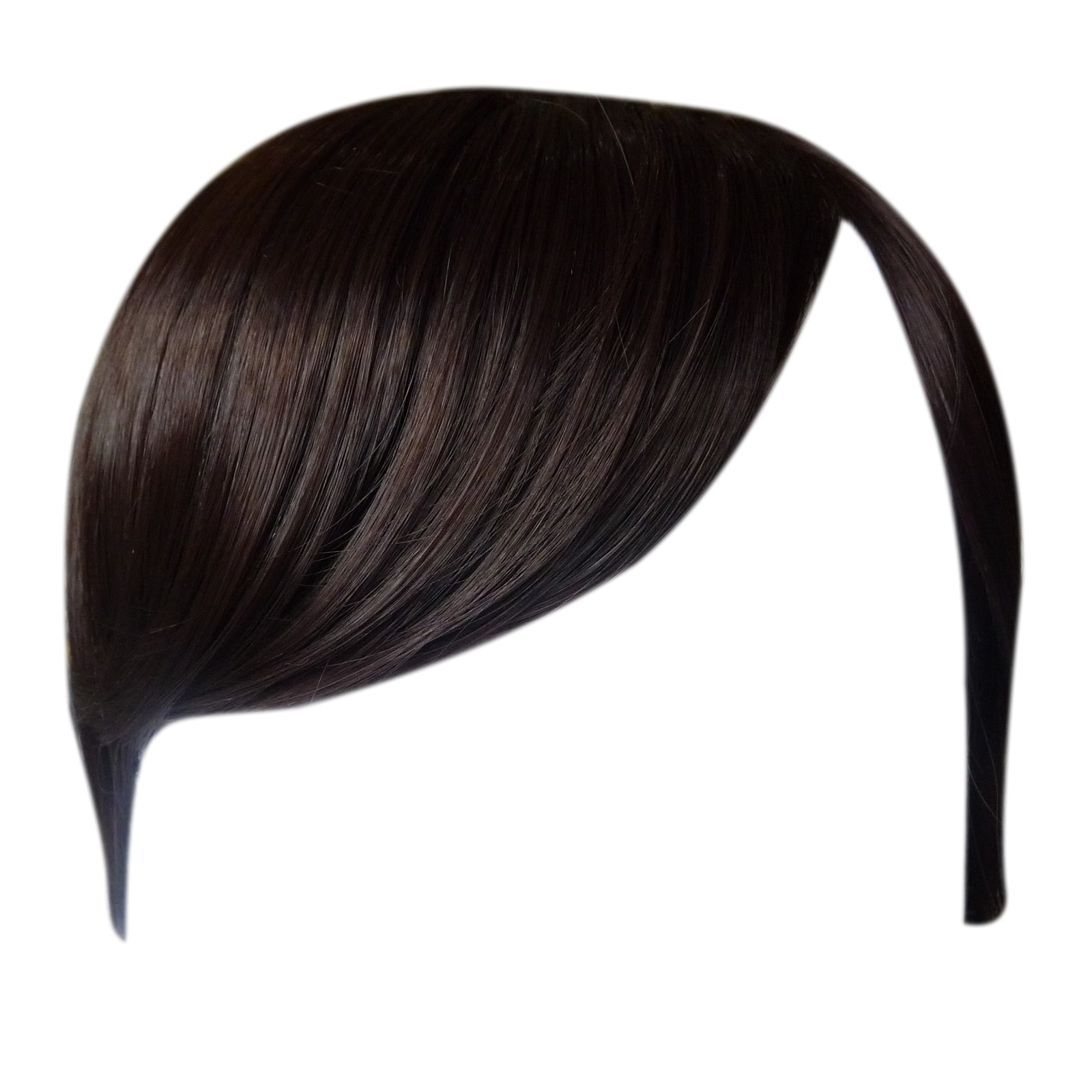 Fringe Bangs Clip In On Hair Extensions Straight Choose