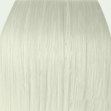 """20"""" Clip in Hair Extensions HIGHLIGHTS Platinum Blonde #16/60 Straight 8pcs 50g"""