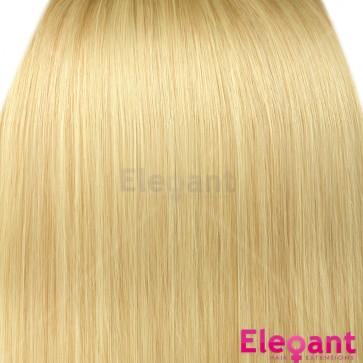 """20"""" Clip in Hair Extensions HIGHLIGHTS Light Blonde #613"""