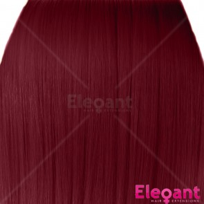 """20"""" Clip in Hair Extensions HIGHLIGHTS Burgundy Straight 8pcs 50g"""