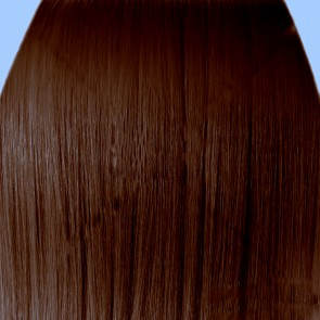 "18"" Clip in Hair Extensions STRAIGHT Chestnut Brown FULL HEAD 8pcs"