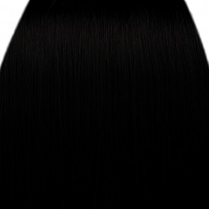 FRINGE BANG Clip in Hair Extensions Classic Style Jet Black #1