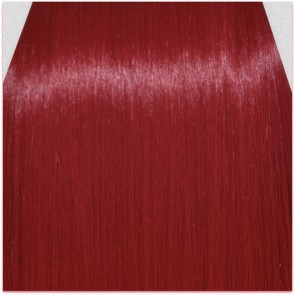 FRINGE BANG Clip in Hair Extension STRAIGHT Pillar Red
