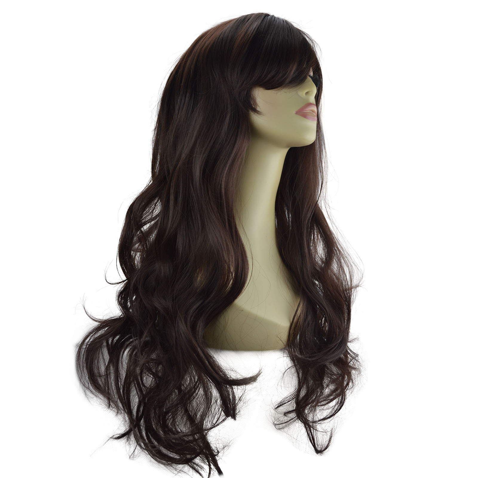 22 Quot Ladies Beautiful Full Wig Long Hair Piece Loose Waves