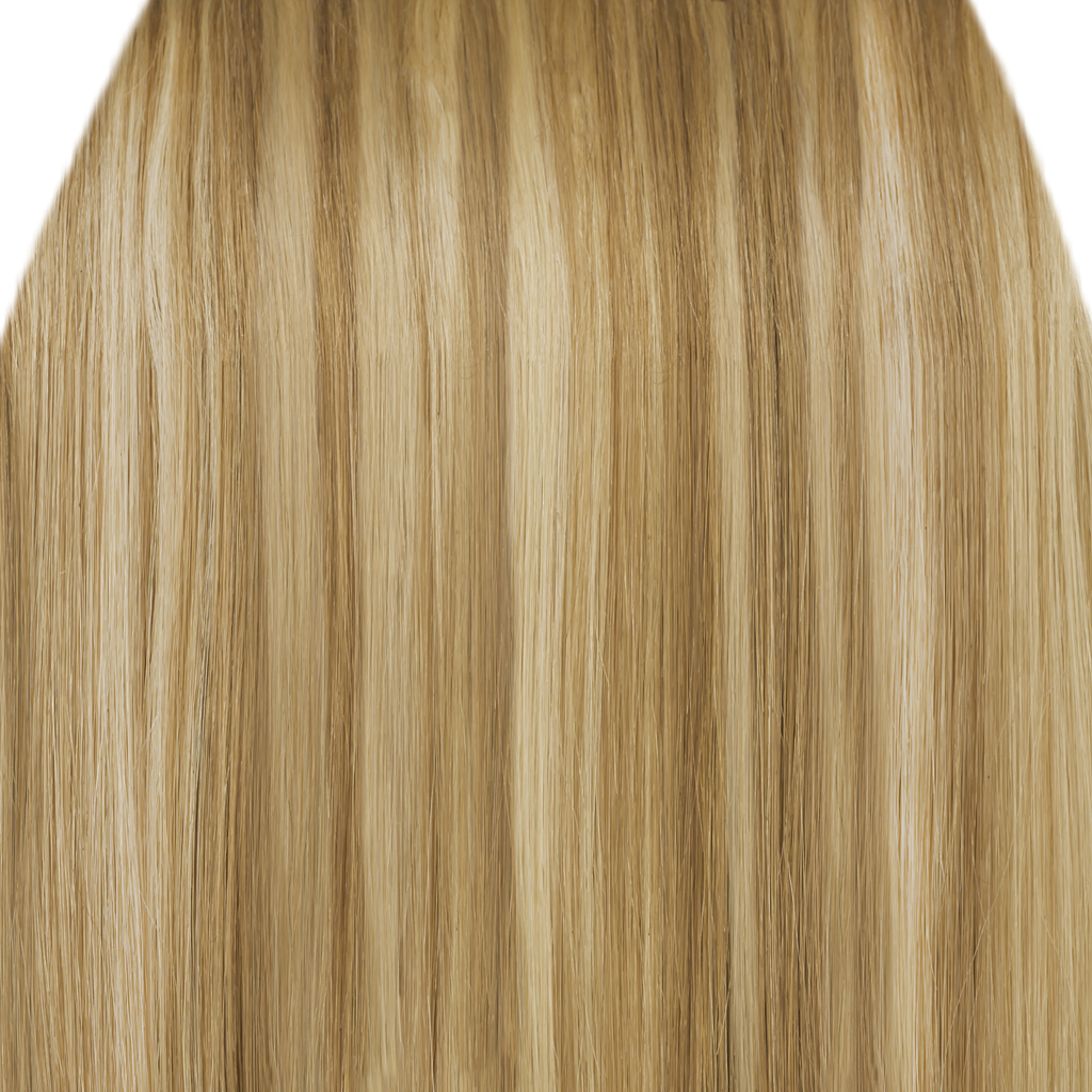 Clip In Hair Extensions Straight Blonde Mix 18 613 Full Head