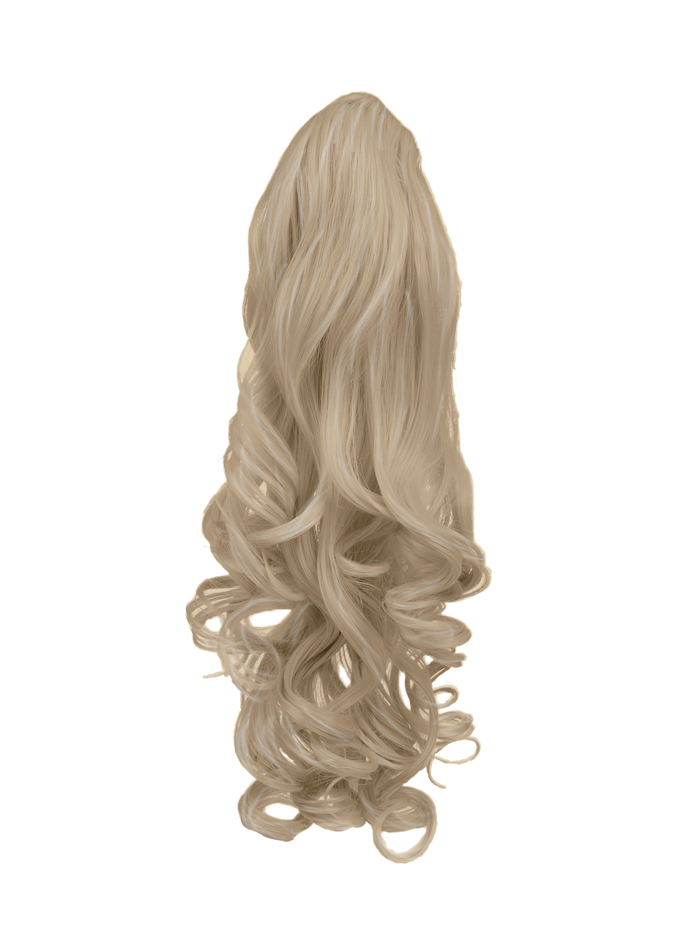 Ponytail clip in hair extensions champagne blonde 22 reversible ponytail clip in hair extensions champagne blonde 22 pmusecretfo Images