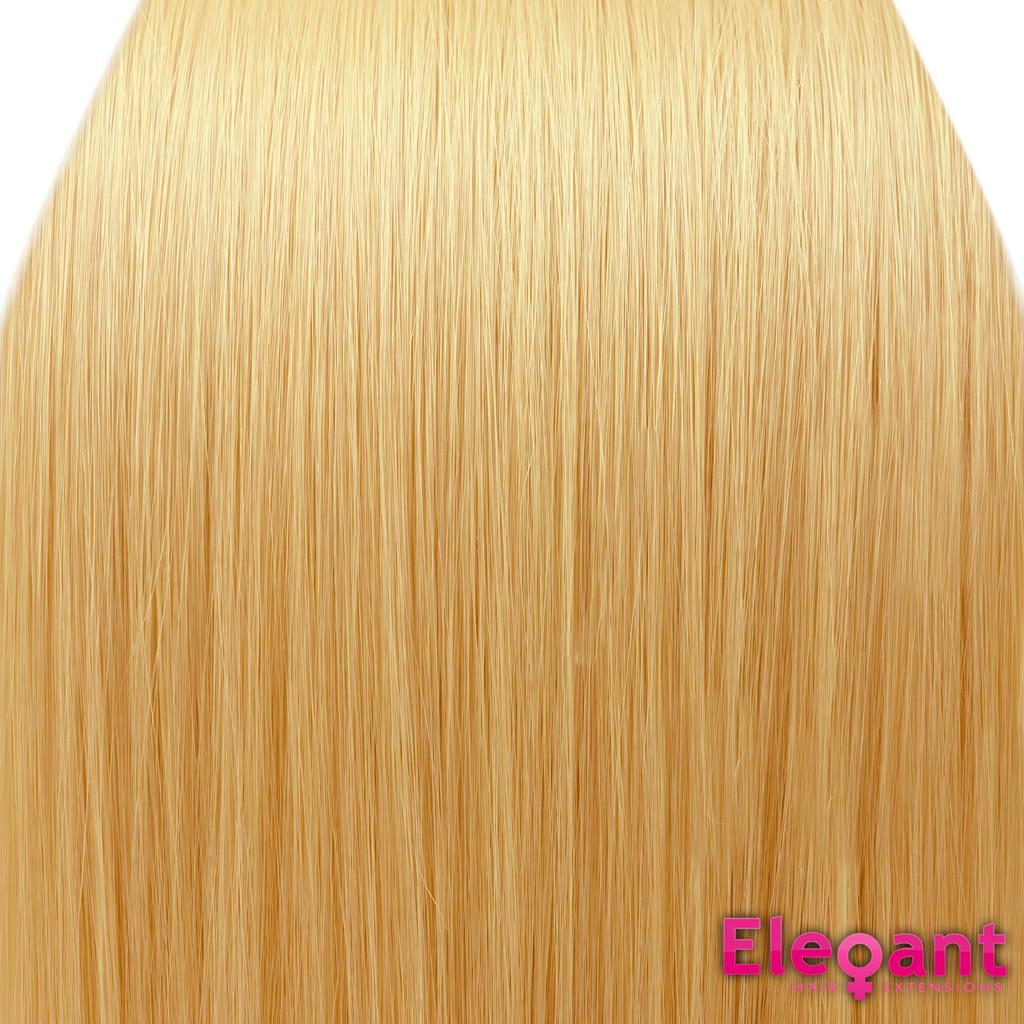 Clip In Hair Extensions Straight Golden Blonde 26 Full Head Ebay