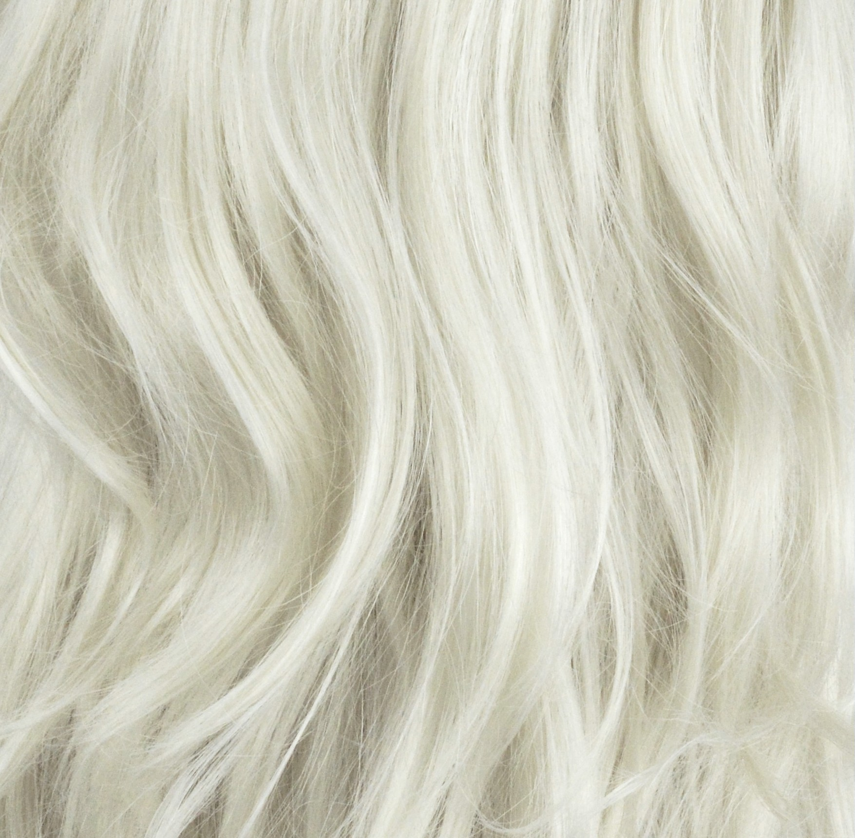 20 Clip In One Piece Straight Platinum Blonde 1660 Full Head 1pc