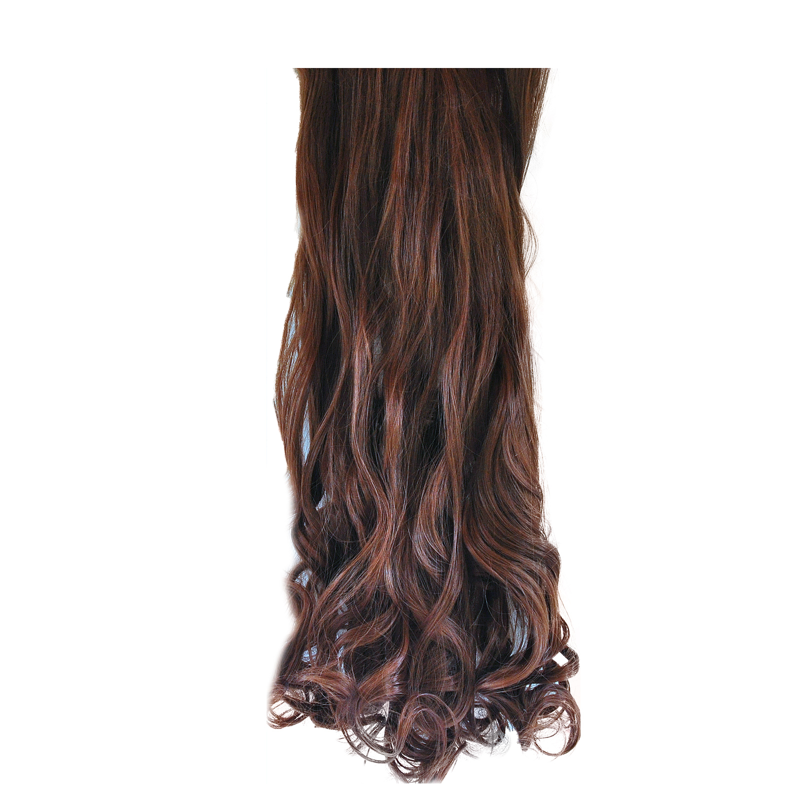 Full Head Clip In Hair Extensions curly/wellig 9/9
