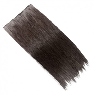 20 Inch One Piece Straight - Dark Brown #4