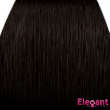 15 Inch Clip in Hair Extensions Straight 8pcs - Dark Brown #4