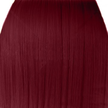 "18"" Clip in Hair Extensions STRAIGHT Burgundy FULL HEAD 8pcs"