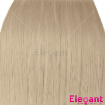 "20"" Clip in Hair Extensions STRAIGHT Champagne Blonde #22 FULL HEAD 8pcs"