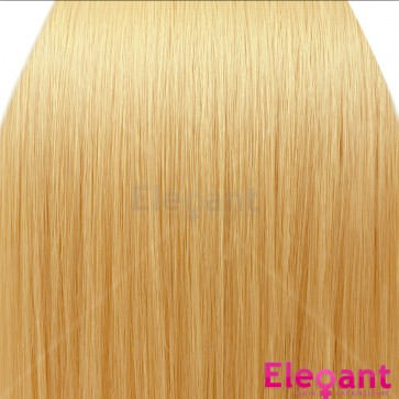 20 Inch Clip in Hair Extensions Straight Highlights - Golden Blonde
