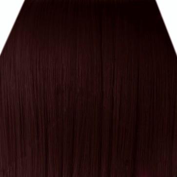 "18"" Clip in Hair Extensions STRAIGHT Dark Auburn #33 FULL HEAD 8pcs"
