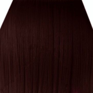 22 Inch Clip in Hair Extensions Straight 8pcs - Dark Auburn