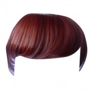 FRINGE BANG Clip in Hair Extension Copper #350