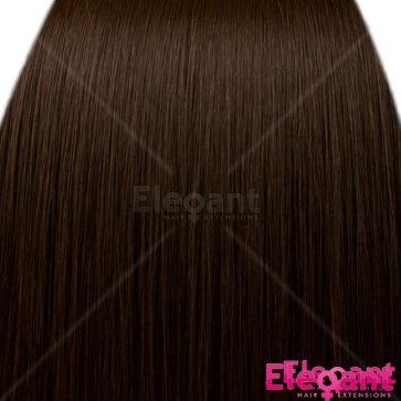 FRINGE BANG Clip in Hair Extensions Classic Style Chocolate Brown #8