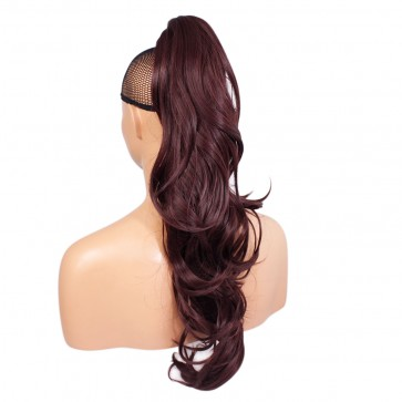 "22"" PONYTAIL FLICK Cheryl Cole Red #99J REVERSIBLE Claw Clip"
