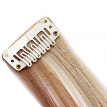"20"" Clip in Hair Extensions HIGHLIGHTS Blonde Mix #18/613 50g"