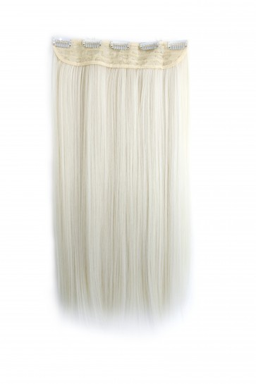 20 Inch One Piece Straight - White Blonde
