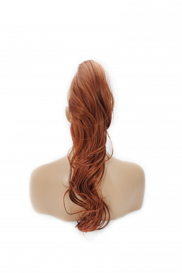 "22"" PONYTAIL FLICK Copper #350 REVERSIBLE Claw Clip"