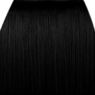 FRINGE BANG Clip in Hair Extensions Classic Style Black #1b