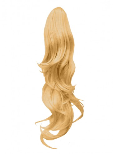 "22"" PONYTAIL FLICK Golden Blonde #26 REVERSIBLE Claw Clip"