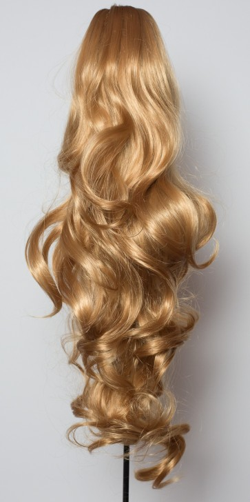 "22"" PONYTAIL WAVY Dark Blonde"