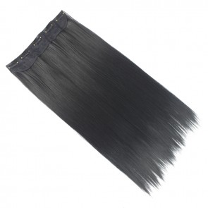 20 Inch One Piece Straight - Jet Black