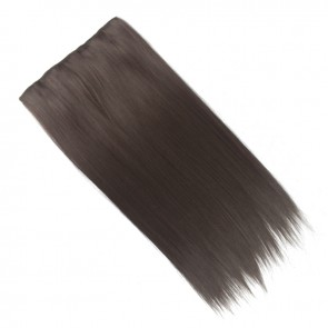 20 Inch One Piece Straight - Medium Brown #6