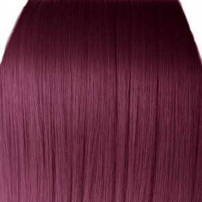 15 Inch Clip in Hair Extensions Straight 8pcs - Rich Wine