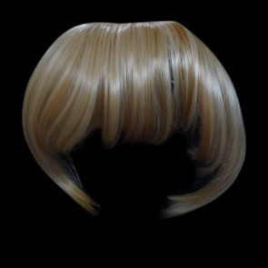 FRINGE BANG Clip in Hair Extension STRAIGHT Blonde Mix #18/613