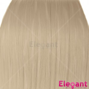 "18"" Clip in Hair Extensions STRAIGHT Champagne Blonde #22 FULL HEAD 8pcs"