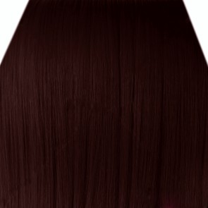 "18"" Clip in Hair Extensions STRAIGHT Dark Auburn #33 FULL HEAD 8pcs"