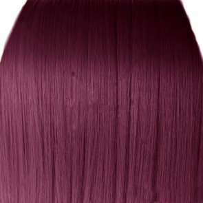 Fringe Bang Clip in Hair Extension Classic - Rich Wine #35
