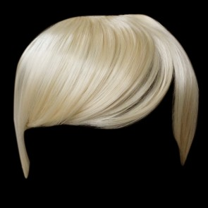 FRINGE BANG Clip in Hair Extension Lightest Blonde #60