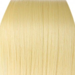 18 Inch Clip in Hair Extensions Straight 8pcs - Lightest Blonde