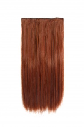 20 Inch One Piece Straight - Copper #350