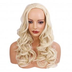 "22"" Ladies 3/4 WIG WAVY Swedish Blonde"