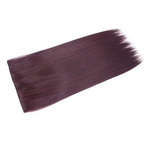 20 Inch One Piece Straight - Dark Plum