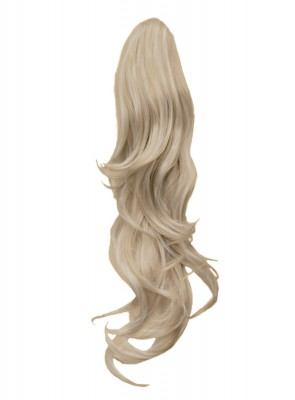 """22"""" PONYTAIL FLICK Champagne Blonde #22 REVERSIBLE Claw Clip"""