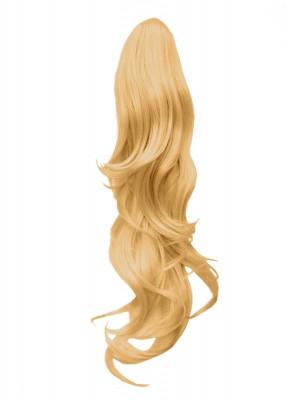 22 Inch Ponytail Flick Claw Clip - Golden Blonde