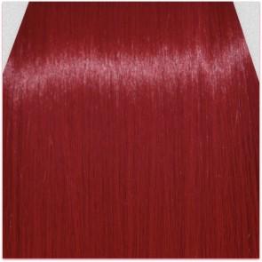 "15"" Clip in Hair Extensions STRAIGHT Pillar Red FULL HEAD 8pcs"