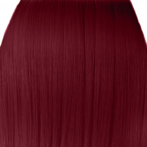 15 Inch Clip in Hair Extensions Straight 8pcs - Burgundy